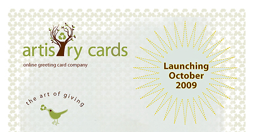 Artistry cards launching 1