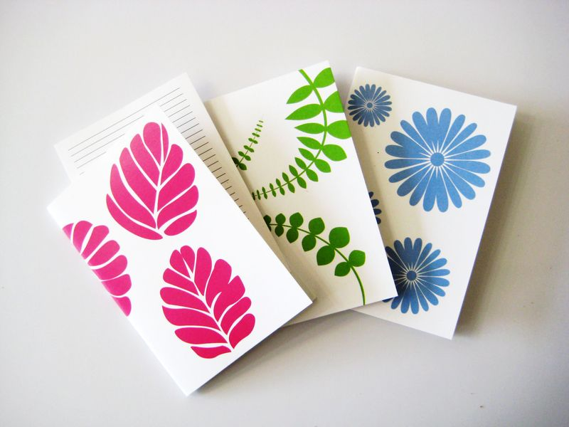 Spring Shapes Notebooks WEB